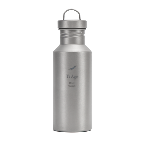 Titanium Water Bottle 550ml
