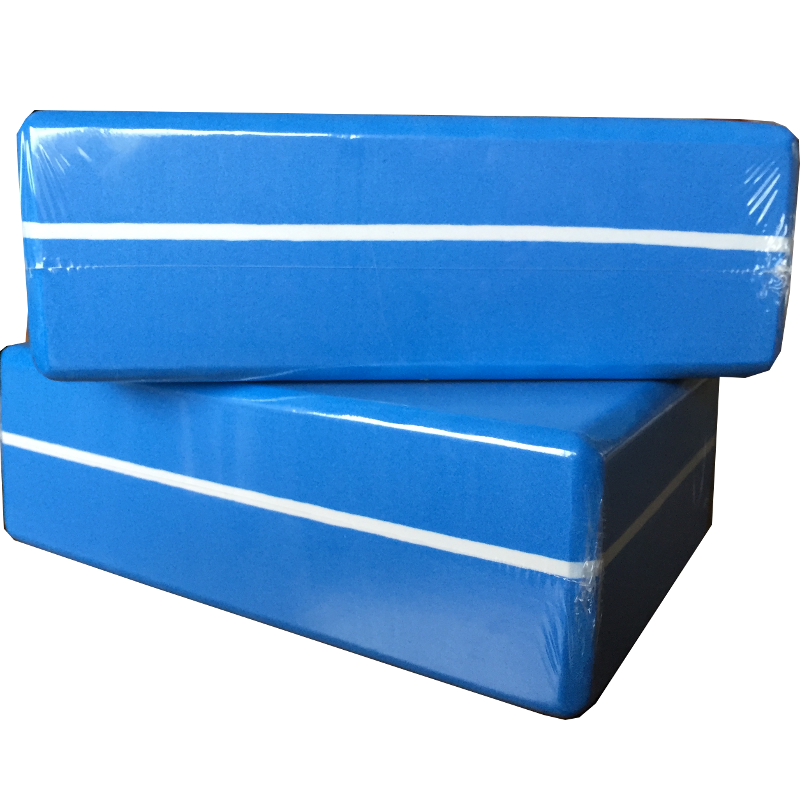 Strip Yoga Block (Blue) - Buy 2, Get the 3rd one FREE