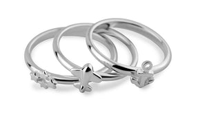 Lucky Horseshoe Ring - Good Luck