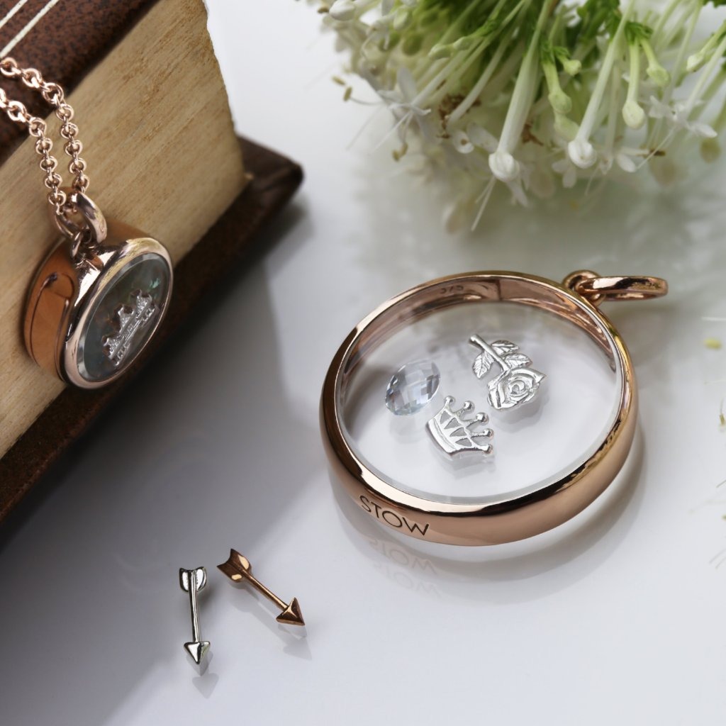 Stow Lockets Large Rose Gold Locket