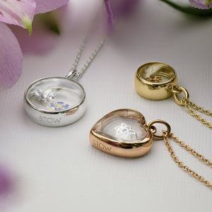 Stow Lockets Medium Rose Gold Heart Locket