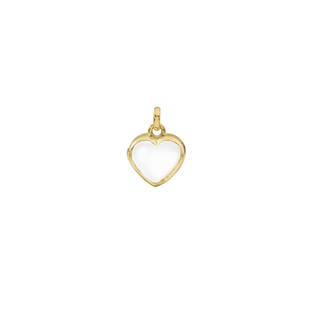 Petite Gold Heart Locket