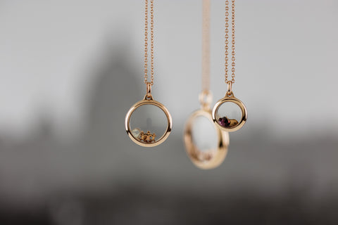 15mm Rose Gold Locket
