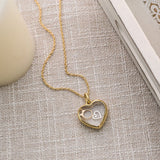 Medium Gold Heart Locket