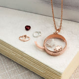 Medium Rose Gold Locket