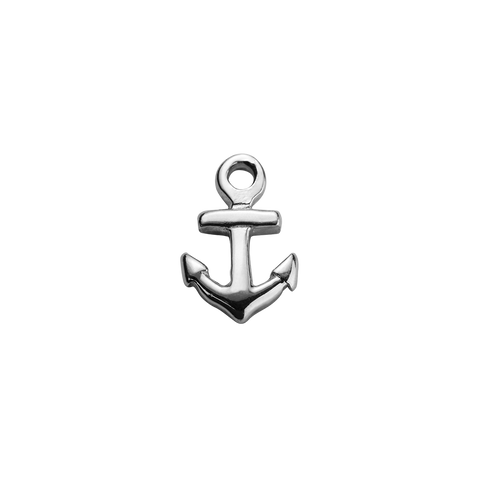 Stow Lockets sterling silver Anchor - Strength silver charm