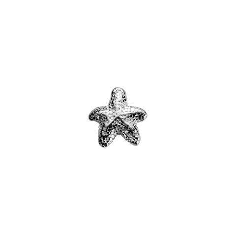 Starfish - Unique silver charm