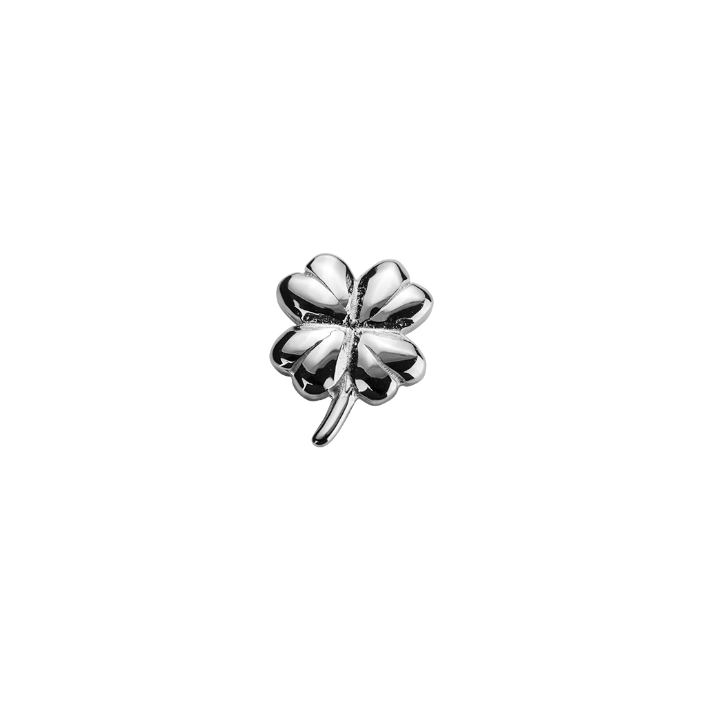 Stow Lockets sterling silver Lucky Clover - Good Fortune silver charm