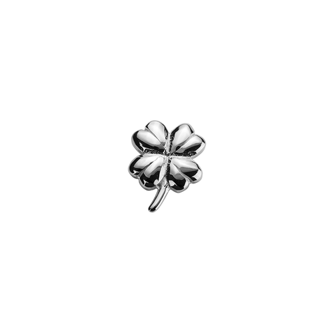 Lucky Clover - Good Fortune silver charm