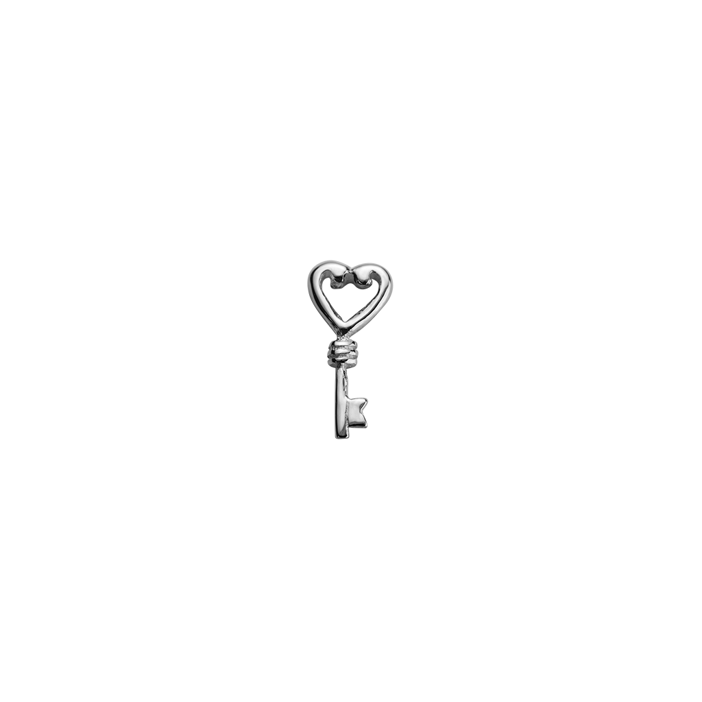 Stow Lockets sterling silver Key - Treasured silver charm
