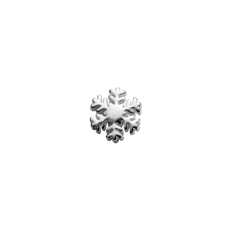 Stow Lockets sterling silver Snowflake - Beautiful silver charm