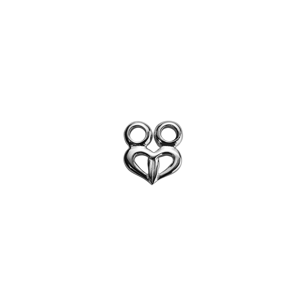Stow Lockets sterling silver Tiki - Guardian silver charm