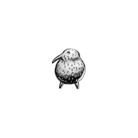 Stow Lockets sterling silver Kiwi - Unique & Special silver charm