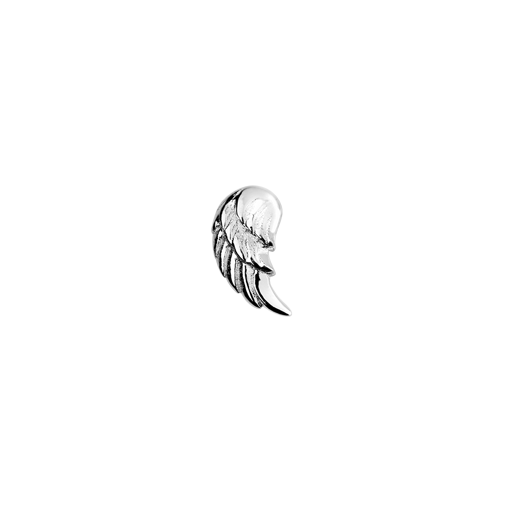 Stow Lockets sterling silver Angel Wing - Free Spirit silver charm