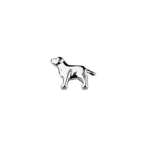 Stow Lockets solid sterling silver Dog - Trusted silver charm