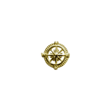 Stow Lockets 9ct Gold Compass - Direction charm