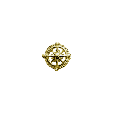 Gold Compass - Direction charm