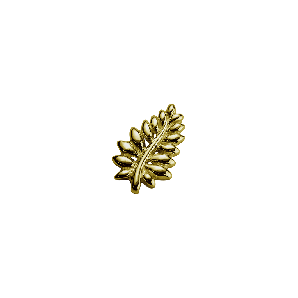 Gold NZ Fern - Loyal charm
