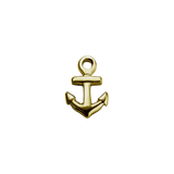 Stow Lockets 9ct Gold Anchor - Strength charm