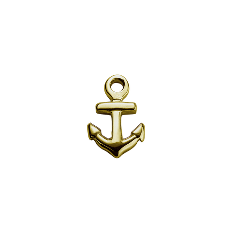 Gold Anchor - Strength charm