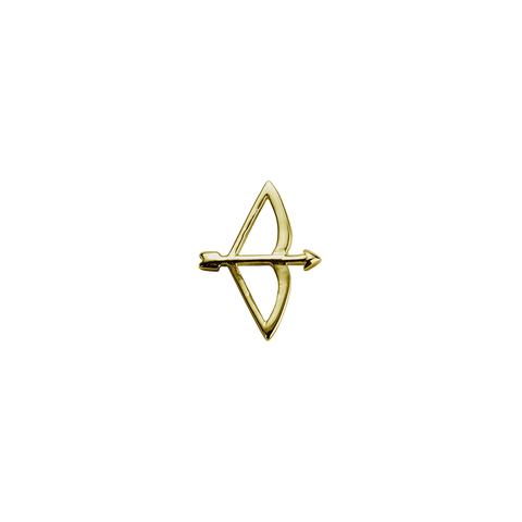 Gold Bow & Arrow - Beloved charm