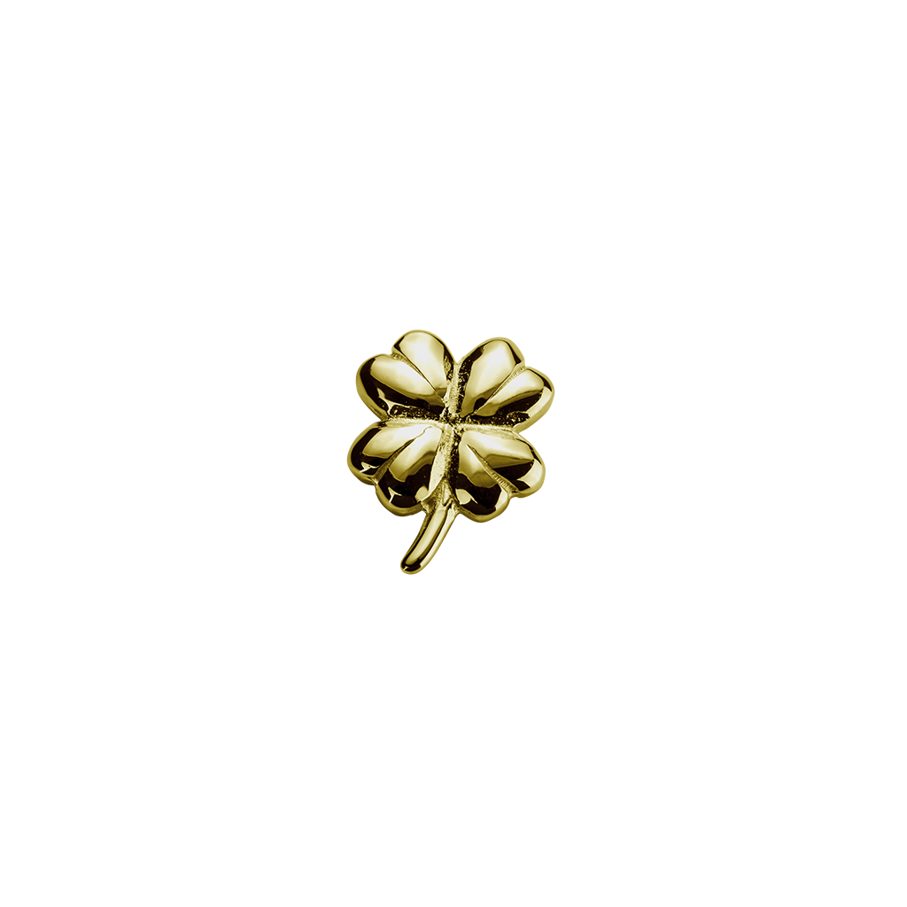 Gold Lucky Clover - Good Fortune charm
