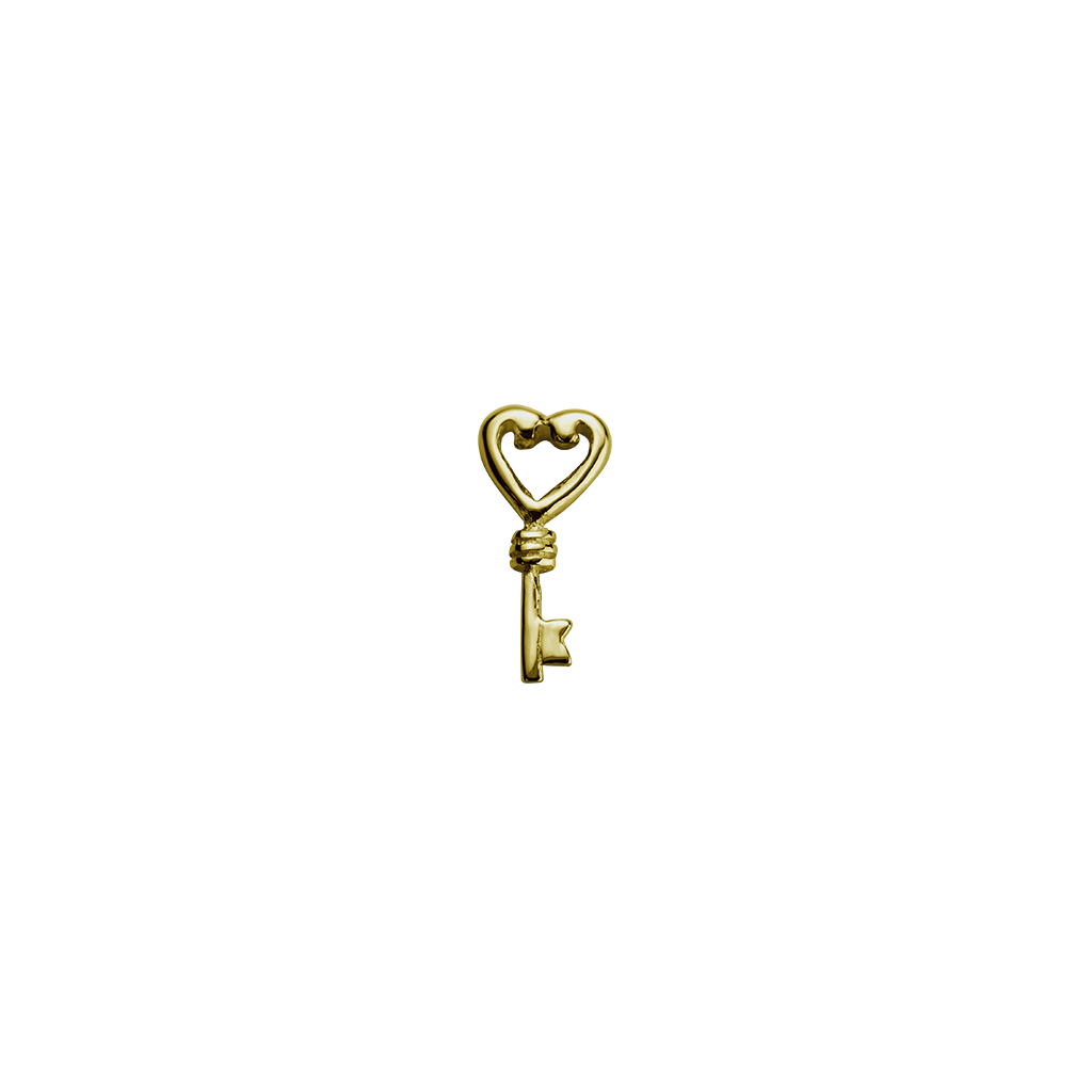 Gold Key - Treasured charm