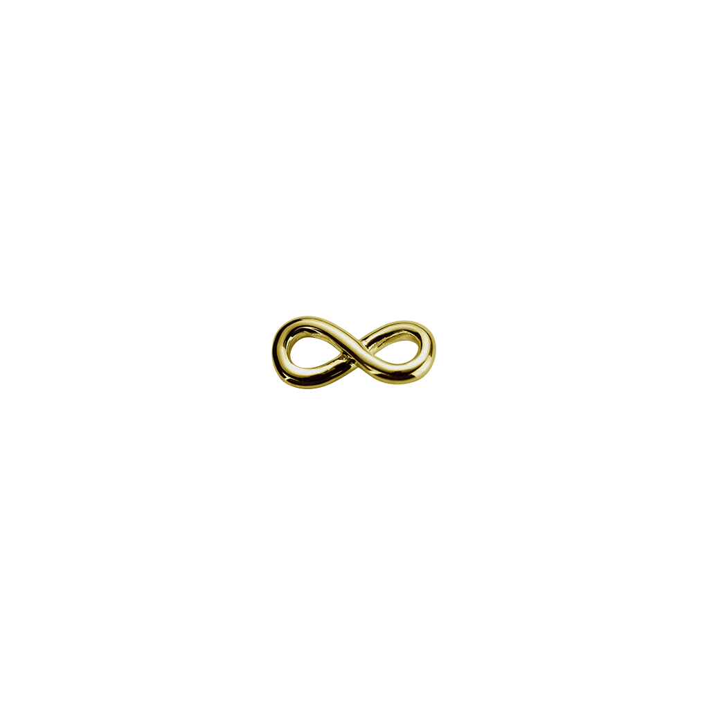 Gold Infinity Twist - Devotion charm
