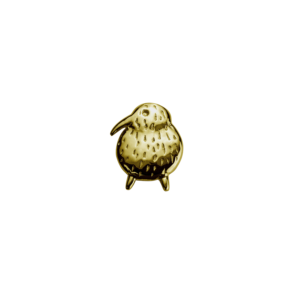 Gold Kiwi - Unique & Special charm