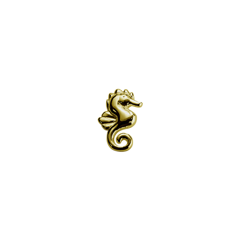 Stow Lockets solid 9ct Gold Seahorse - Enchanted charm