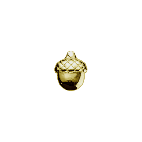 Stow Lockets solid 9ct Gold Acorn - Resilient charm
