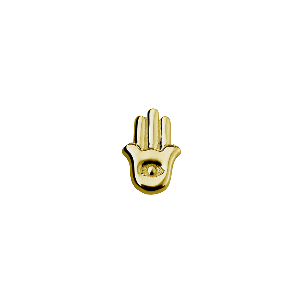 Gold Hamsa - Protection Charm