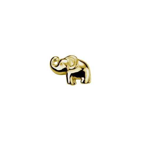 Stow Lockets 9ct Gold Elephant - Lucky charm