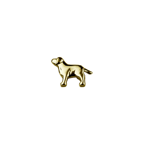 Stow Lockets solid 9ct Gold Dog - Trusted charm