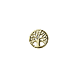 Stow Lockets solid 9ct Gold Tree of Life - Vitality charm