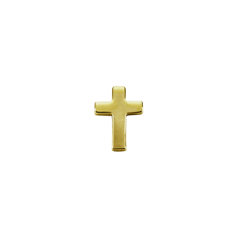 Stow Lockets solid 9ct Gold Cross - Faith charm