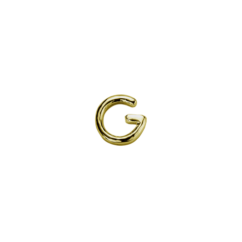 Stow Lockets solid 9ct Gold G letter charm