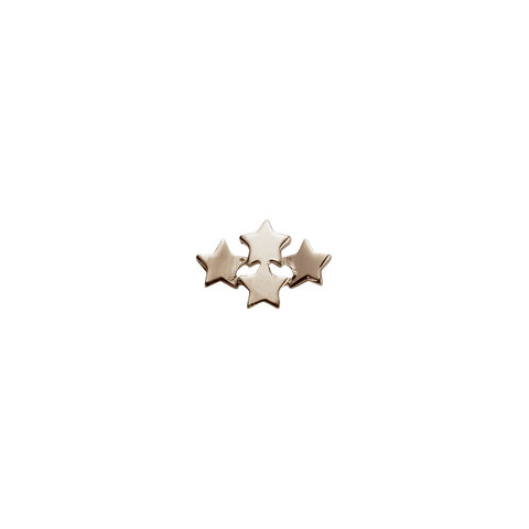 Rose Gold Wishing Stars - My Dreams charm