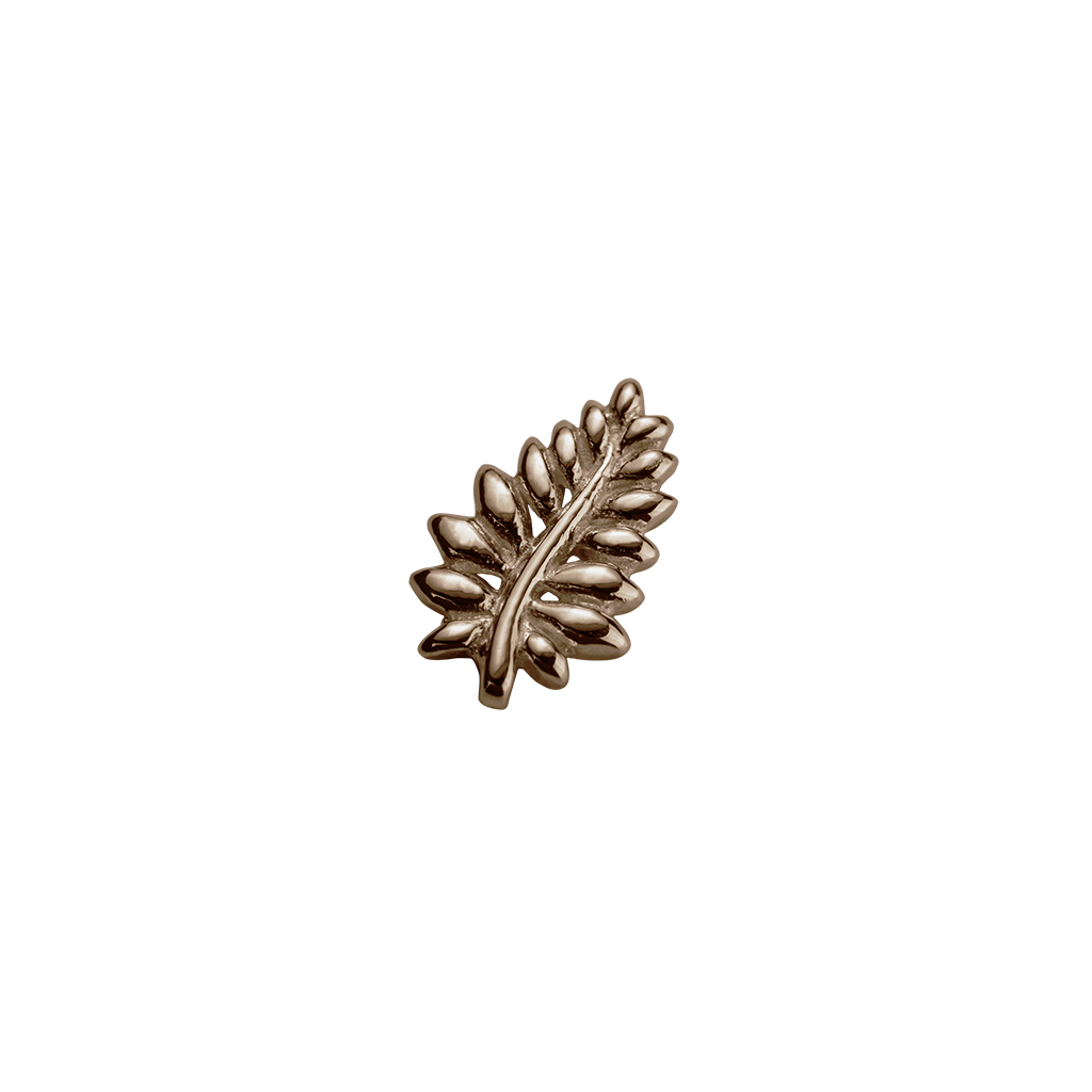 Rose Gold NZ Fern - Loyal charm