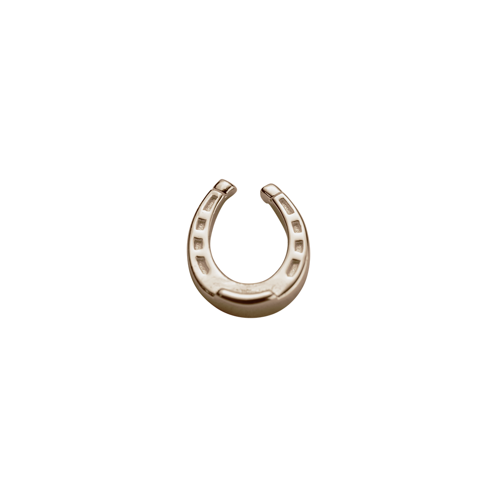 Rose Gold Lucky Horseshoe - Good Luck charm