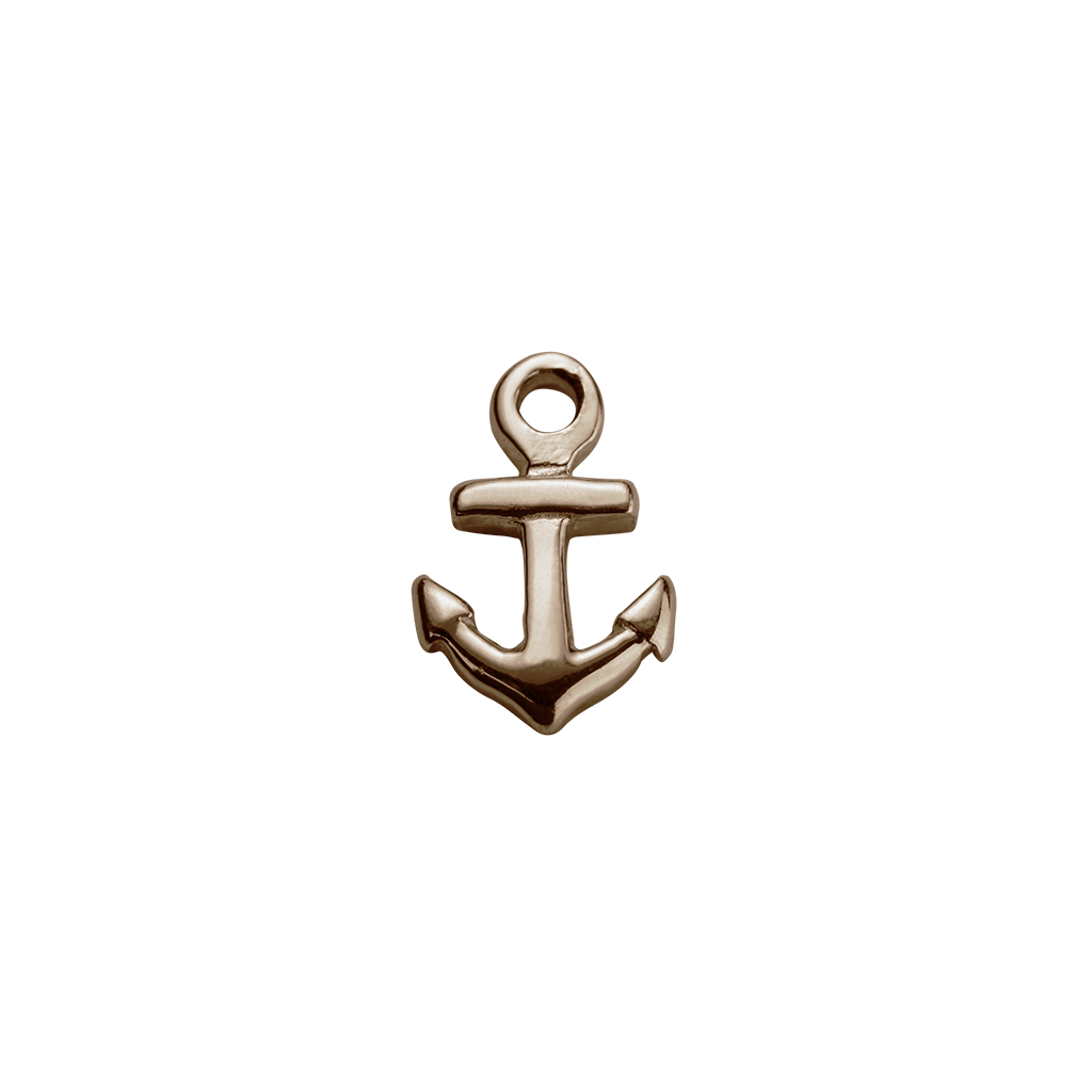Rose Gold Anchor - Strength charm