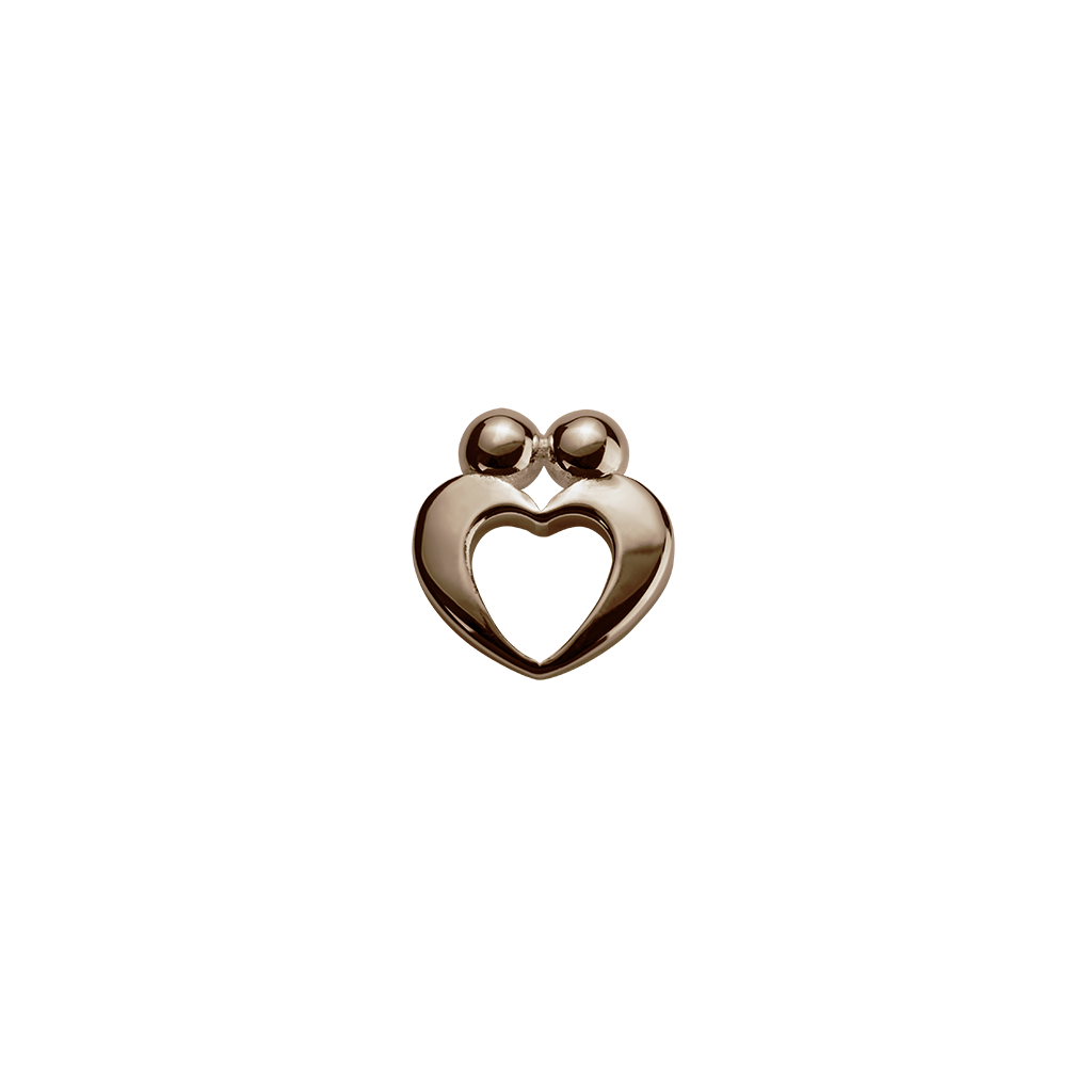 Rose Gold True Love - Yours Always charm