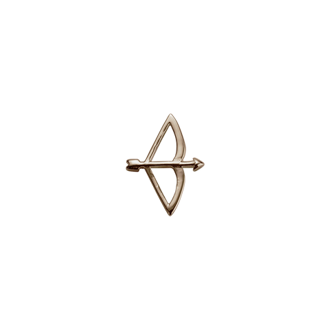 Stow LocketsRose Gold Bow & Arrow - Beloved charm