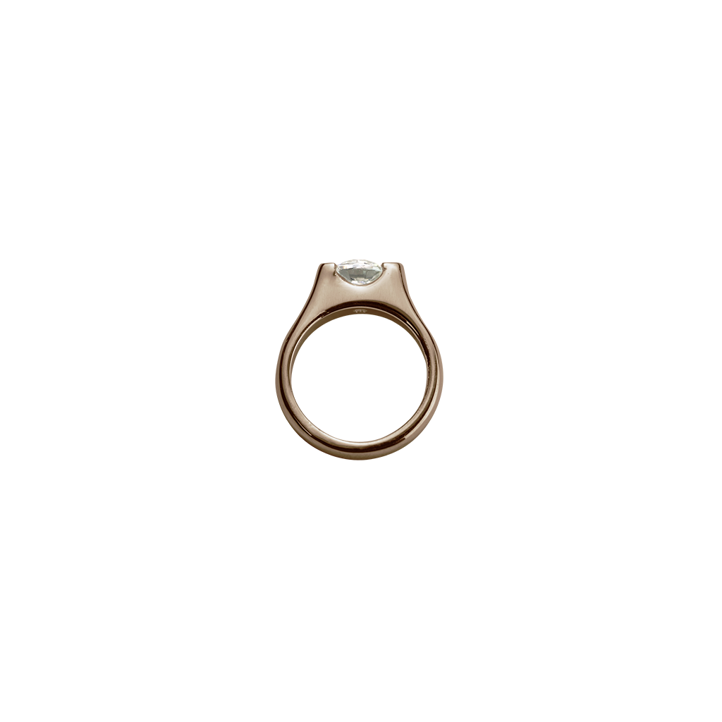 Rose Gold Eternity Ring - Romance charm