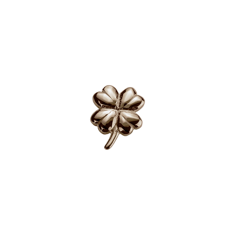 Stow Lockets Rose Gold Lucky Clover - Good Fortune charm