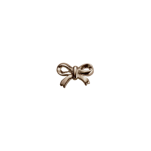 Rose Gold Bow - Gifted charm