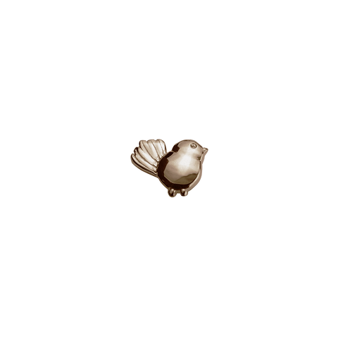 Rose Gold Fantail - True Friend charm