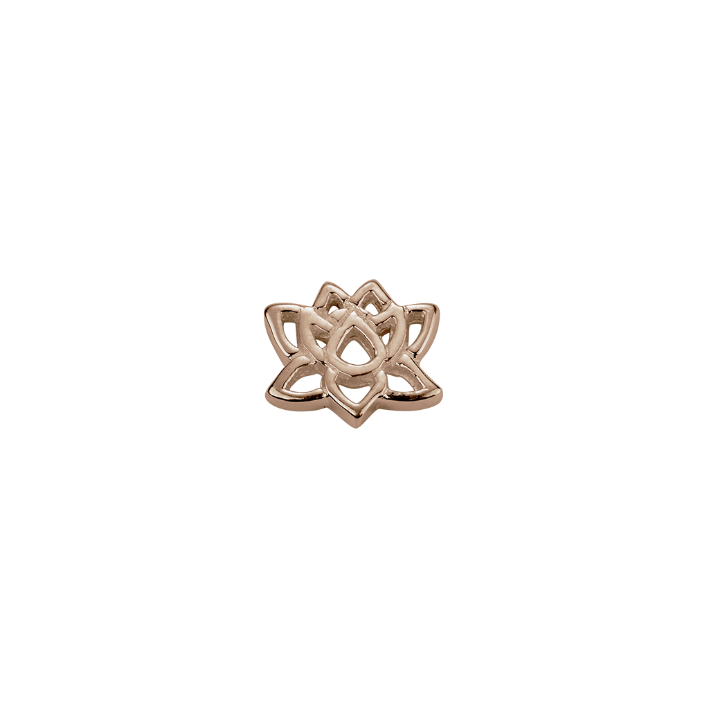Rose Gold Lotus - Enlightenment charm
