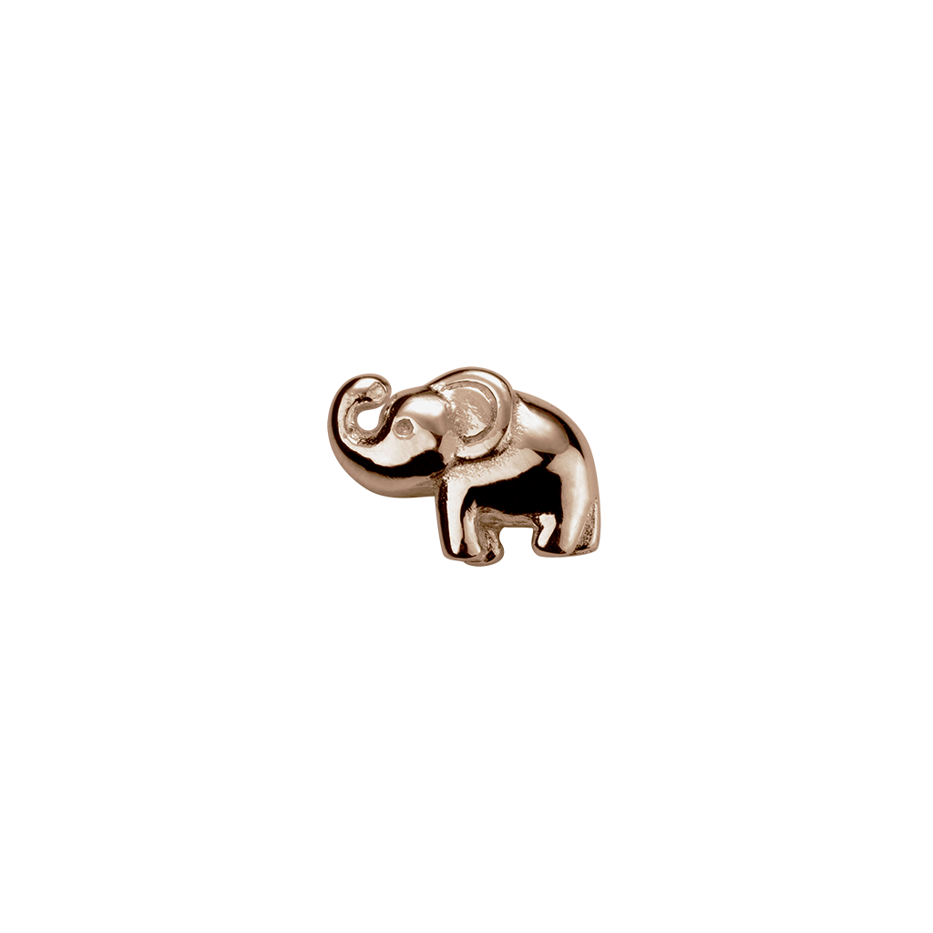 Stow Lockets Rose Gold Elephant - Lucky charm