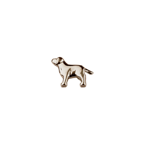 Stow Lockets solid Rose Gold Dog - Trusted charm